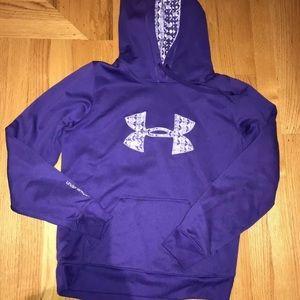 Under Armour Purple Large Hoodie